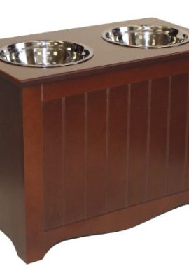 APetProject-Large-Pet-Food-Server-Storage-Box-Chocolate-Brown-LIMIT-1-PER-ORDER-0