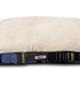 ASPCA-Reversible-Striped-Gusseted-Pillow-Bed-0