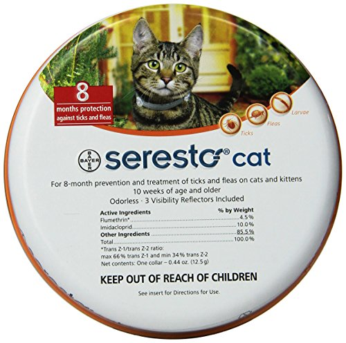 Bayer Seresto Flea And Tick Collar For Small Dogs