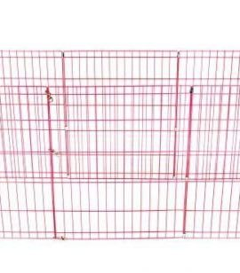 BestPet-8-Panel-Tall-Dog-Playpen-Crate-Fence-Pet-Kennel-Play-Pen-Exercise-Cage-42-Inch-Pink-0