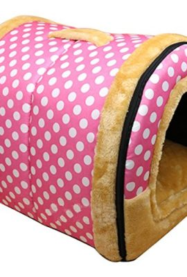 DK-Cozy-2-in-1-Pet-house-and-Sofa-Non-Slip-Dog-Cat-Igloo-Beds-3-Size-0