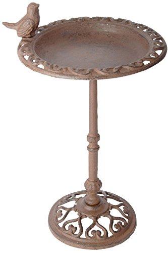 Esschert-Design-USA-FB165-Cast-Iron-Standing-Bird-Bath-0