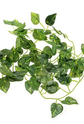 FACILLA-Artificial-Scindapsus-Vine-for-Reptiles-Lizard-Chameleon-Habitat-Decor-Green-0
