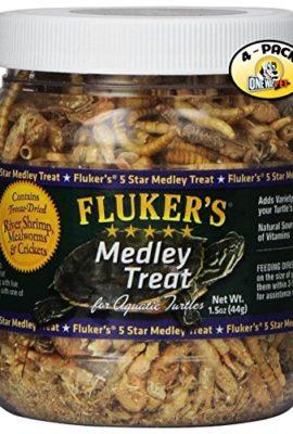 Fluker-Labs-SFK72020-Aquatic-Turtle-Medley-Treat-Food-15-Ounce-Pack-of-4-0