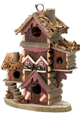 Gingerbread-Style-Birdhouse-Avian-Bird-House-Condo-0