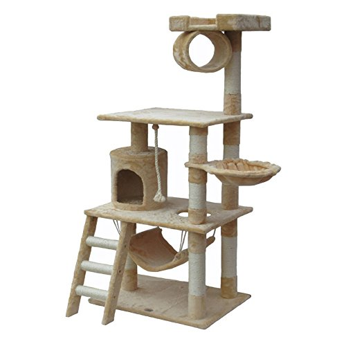 Go-Pet-Club-Cat-Tree-Furniture-62-in-High-0