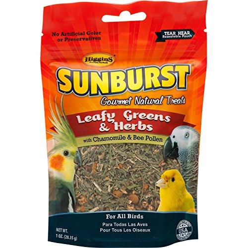 Higgins-Pet-Food-HS32256-Sunburst-Treat-Greens-Herbs-1-Oz-0