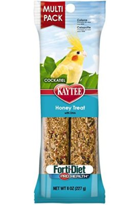 Kaytee-Pet-Products-BKT100502949-Forti-Diet-Pro-Health-Honey-Cockatiel-Treat-Stick-Value-Pack-8-Ounce-0