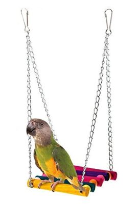 Monkeybrother-Pet-Bird-Parrot-Budgie-Cockatiel-Parakeet-Cage-Hammock-Swing-Toy-Hanging-Toy-Ladder-Bird-Toy-0