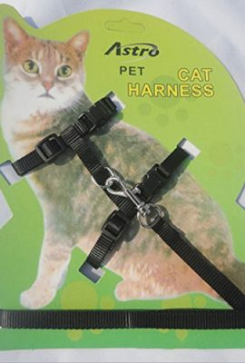 Pet-Cat-Lead-Leash-Halter-Harness-Kitten-Nylon-Strap-Belt-Safety-Rope-Adjustable-Cat-Dog-Collar-0