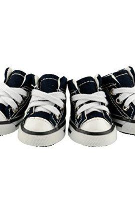Pet-Dog-Shoes-Denim-Sport-Casual-Anti-slip-Rubber-Boots-Dark-Blue-Sneaker-Comfortable-Shoes-4Pcs-Pack-0
