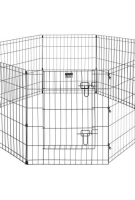 Pet-Trex-Exercise-Playpen-for-Dogs-with-High-Panel-and-Gate-24-x-30-0