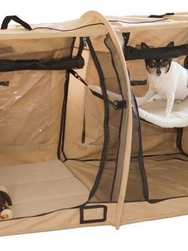 Portable-Dual-Compartment-Soft-Side-Small-Pet-Kennel-Crate-0