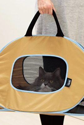 Portable-Ultra-Light-and-Sturdy-Cat-Carrier-Top-loadFolds-up-flatsee-out-from-everywherebest-take-to-vet-cliniccomfort-soft-bagEasy-to-wash-0
