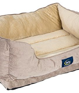 Serta-Cuddler-Dog-Bed-Grey-0