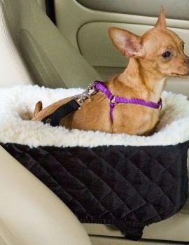 Snoozer-Console-Pet-Car-Seat-Cream-Fur-0