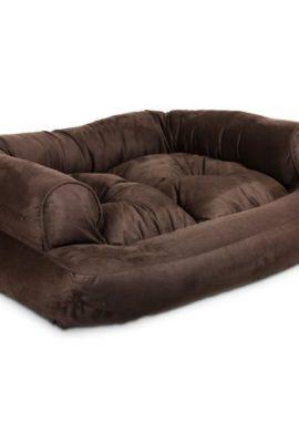 Snoozer-Overstuffed-Luxury-Pet-Sofa-X-Large-Hot-Fudge-0