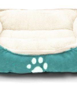 Sofantex-Pet-Line-Medium-Size-Pet-Beds-Paw-Print-Blue-0