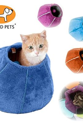United-Pets-Kitty-Cat-Cozy-Cave-Bed-0
