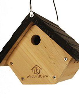 WildBird-Care-Pull-Out-Cedar-Bird-House-BCH1A-Natural-Color-0
