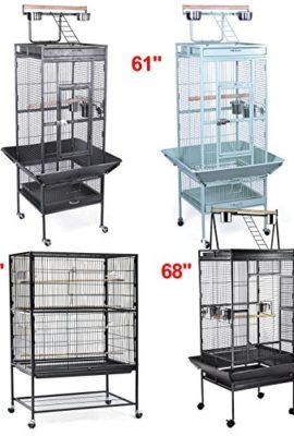 Yaheetech-Parrot-Bird-Cage-Playtop-Cockatiel-Cockatoo-Birdcages-0