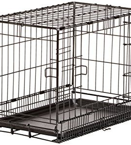 AmazonBasics-Folding-Metal-Dog-Crate-0